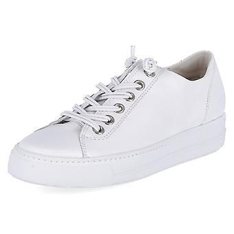 Paul Green 4081068MASTERCALFWHITESILVER universal all year women shoes