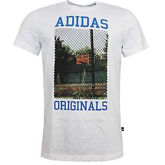Adidas Originals Court Fotoğraf Organik Pamuk Erkek Tişört S19210 DD14