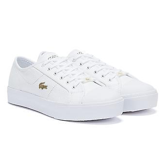 Lacoste Ziane Plus Grand 721 1 Womens White / White Trainers