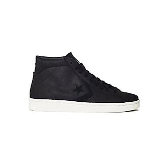 Converse Womens PL 76 Mid Leather Hight Top Lace Up Fashion Sneakers
