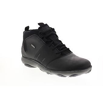 Geox U Nebel 4 X 4 B Abx Herren schwarz Leder Stiefeletten