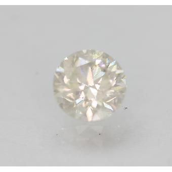 Certified 0.74 Carat H Color SI2 Round Brilliant Natural Loose Diamond 5.62m 3VG