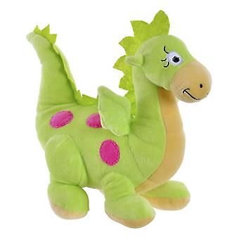 Fluffy toy Dekodonia Dragon Green Polyester (33 x 15 x 24 cm)