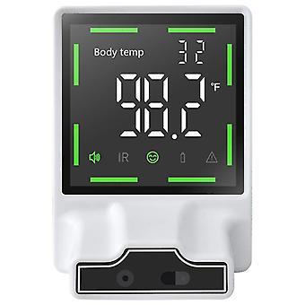 Infrarot-Körpertemperatur-Thermometer Wand montiert, berührungslose automatische Körpertemperatur-Scanner-Check mit Fieberalarm