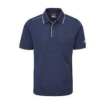 Oscar Jacobson Mens Cooper Polo Shirt Short Sleeve Performance Top