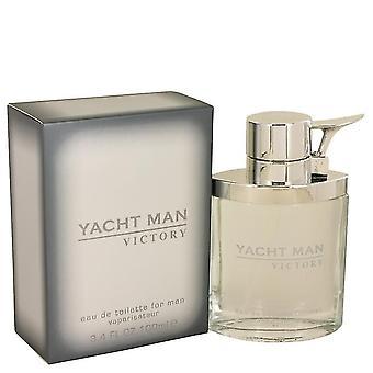 Yacht Man Victory Eau DE Toilette Spray By Myrurgia 3.4 oz Eau DE Toilette Spray