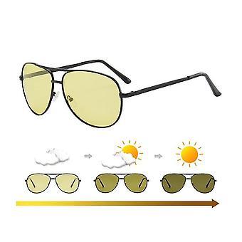 تغيير لون النظارات الشمسية الرجال، Photochromic الاستقطاب المرأة نظارات الشمس