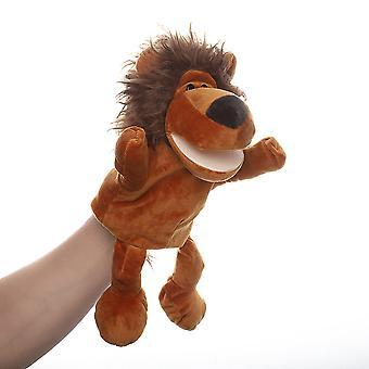Lion Hand Puppets Animal Toy för fantasifull lek, strumpa, flickor, pojkar