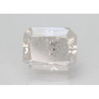 Zertifiziert 3.48 Karat F Farbe Radiant Enhanced Natural Diamond 9.22x7.34mm 2VG