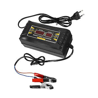 Full automatic car battery charger 150v/250v to 12v 6a smart fast power charging