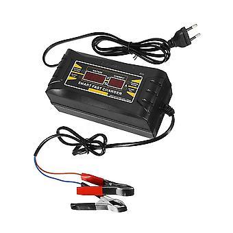 フルオートカーバッテリー充電器150v / 250vから12v 6aスマート高速電力充電