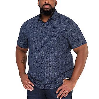 Duke D555 Mens Sefton Big Tall King Size Polo Shirt T-Shirt Tee Top - Blue