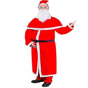 Świąteczny strój Santa Claus Płaszcz Zestaw kostiumów