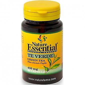Nature Essential Té verde 400 mg x 50 cápsulas