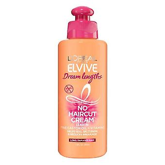 L'oreal paris elvive dream lengths no haircut cream leave in conditioner, 6.8 oz