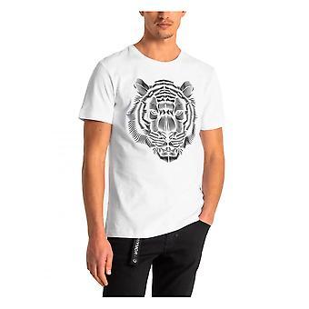 Antony Morato Miesten Leijona T-paita Valkoinen