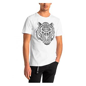 Antony Morato Mens Lion T-shirt Wit