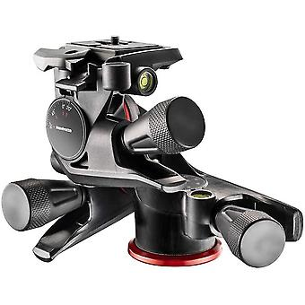 DZK XPRO 3-Way Head, Camera Tripod Head, 3-Axis Movement, High Precision, Photography Equipment