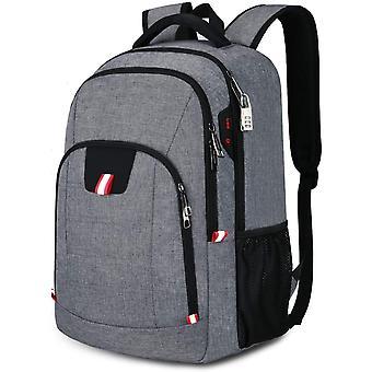 Laptop Rucksack Herren Anti-Diebstahl Rucksack fr 15.6 zoll Laptop Schulrucksack Daypack