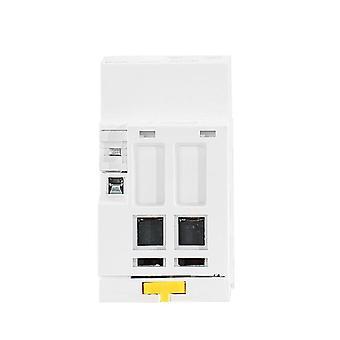 Geya 2p 40a 63a 2no Or 2nc Modular Contactor Din Rail Mounting Ac220v 230v