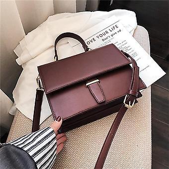 Burminsa koreanska stil kvinnor handväskor kvinnlig portfölj unik krokodiltryck damer axel budbärarväskor 2019 röd svart khaki
