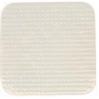 bath mat 51 x 51 cm PVC cream