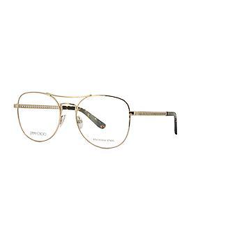 Jimmy Choo JC200 J5G Guld briller