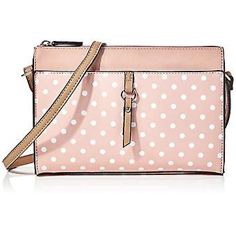 N.V. Bags 307 - Women's crossbody bag, (pink), SMALL
