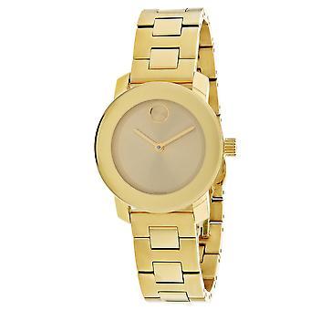 Movado Women's Bold Gold Dial Watch - 3600434