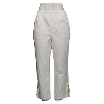 Belle de Kim Gravel Jeans Femenino Flexibelle Blanco Regular A341910