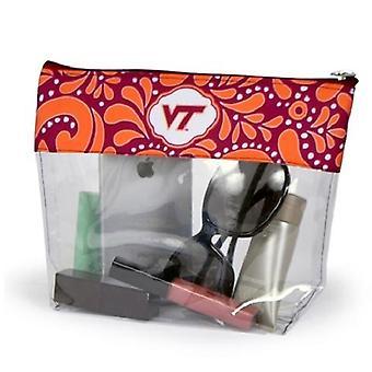 Virginia Tech Hokies NCAA Clear Travel Pouch