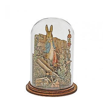 Beatrix Potter Peter Rabbit With Handkerchief Wooden Figurine