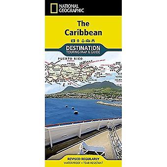 Caribbean Destination Map