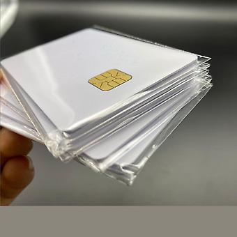 Valkoinen siru älykäs ic-kortti muistilla