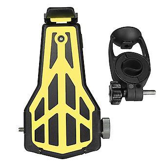 Motorcycle bike phone holder handlebar universal adjustable clip
