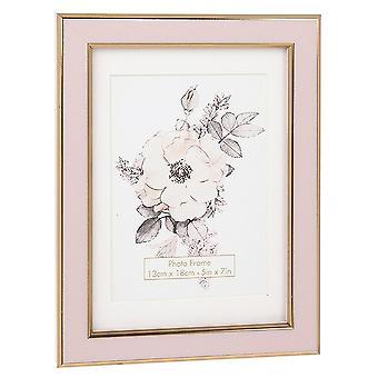 Shudehill Lahjatavara Vintage Style Vaaleanpunainen Kulta 5 X 7 Valokuvakehys 287122