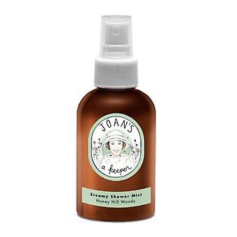 Joans A Keeper Steamy Shower Mist Honey Hill Woods, 4 Oz