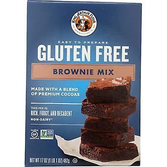 King Arthur Mix Brownie Gf, Boîtier de 6 X 17 Oz