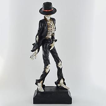 Figurilla de esqueleto de baile de fantasía
