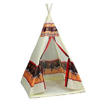 أطفال لعب خيمة أطفال خيمة البيت الهندي نمط Toykids داخلي خيمة البيت الملونة