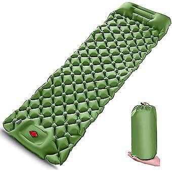 Matelas gonflable camping matelas pneumatique avec oreiller pour la randonnée