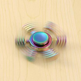 Hexagonale Hand Spinner Toy Finger Spinner Rotatie Tijd Lang Verlicht Stress