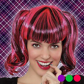 Halloween Wig Bicoloured 118394