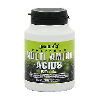 HealthAid Vapaamuotoinen Multi AminoHapot tabletit 60 (802020)