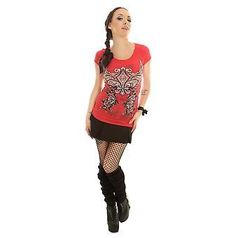 Folter - CUT YOU UP SHIRT - Dames T-Shirt, Goth, Rock, Biker