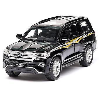 1:32 Toy Car TOYOTA LAND CRUISER Alloy Car(Black)