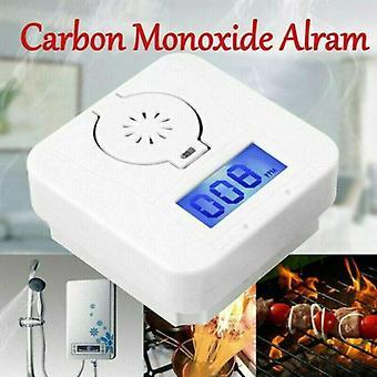 Lcd-Détecteur de monoxyde de carbone CO Intoxication par la fumée Détecteur de gaz Alarme d'avertissement