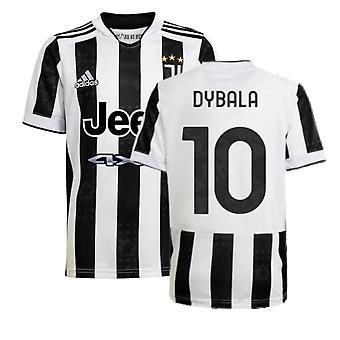 2021-2022 Juventus Heimtrikot (Kinder) (DYBALA 10)