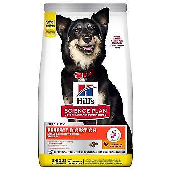 Hills perfekta matsmältning vuxna hundar liten ras & minihundar kyckling & ris