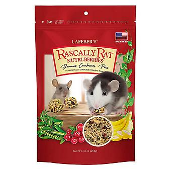 Lafeber Nutritionally Complete Adult Rat Food with Bananas Cranberries And Peas  - 16 oz
